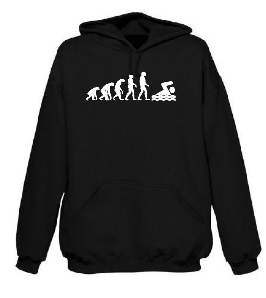 Evolution Swimming Hoodie Free Uk Delivery Evolution Of
